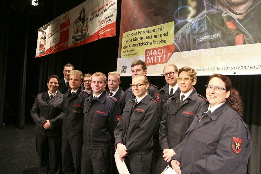 Freiwillige Feuerwehr Leopoldshöhe befördert und ernannt