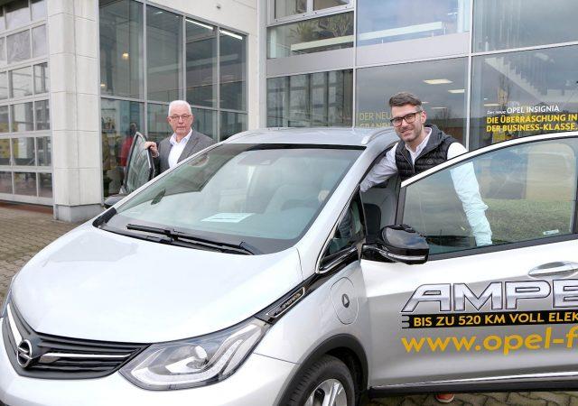 Opel Freitag Übergabe