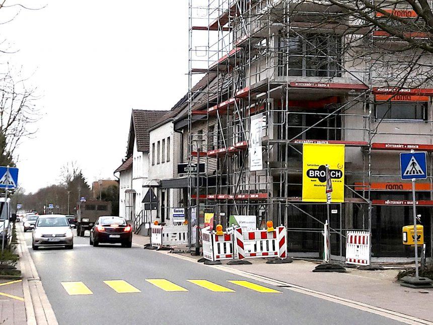 Baustelle Herforder Straße