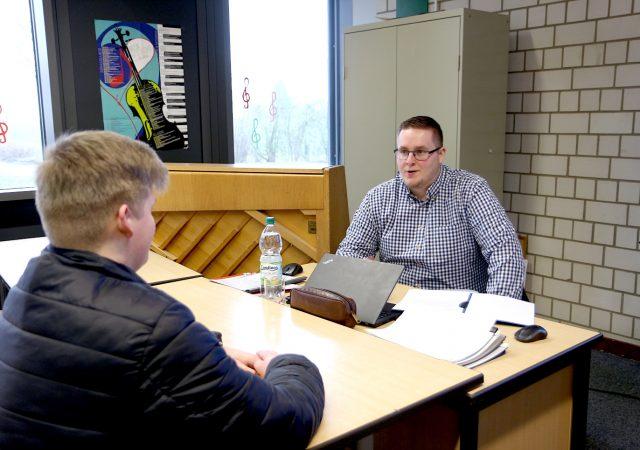 Berufsorientierung Felix-Fechenbach-Gesamtschule