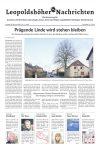Leopoldshöher Nachrichten 08.02.2020