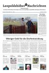 Leopoldshöher Nachrichten 29.02.2020