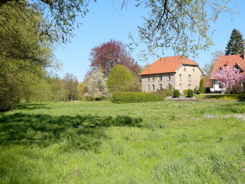 Dorf Greste