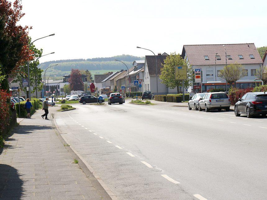 Hauptstraße Asemissen Kreisel print