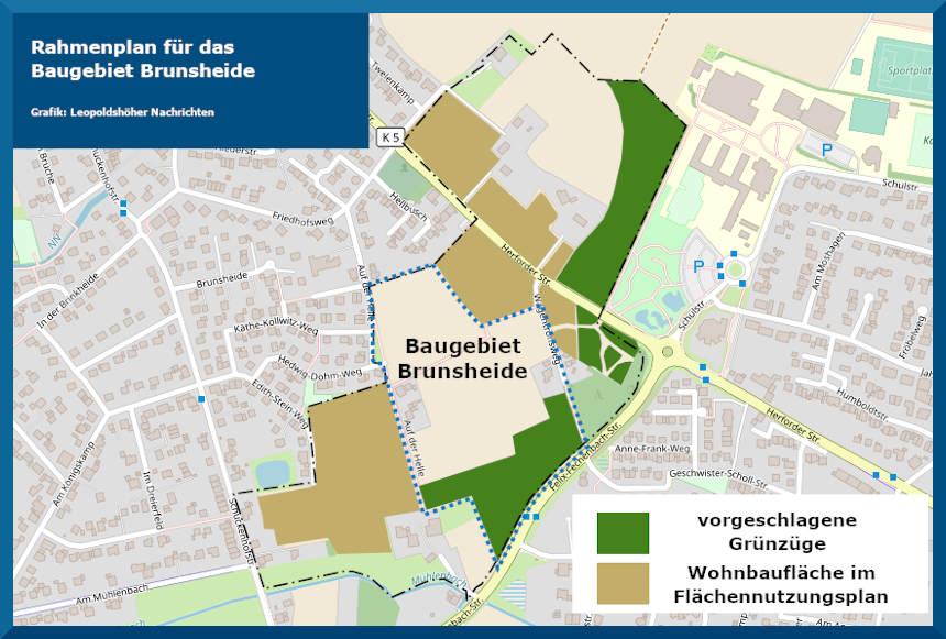 Grafik Baugebiet Brunsheide