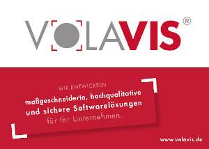 Anzeige Volavis Software