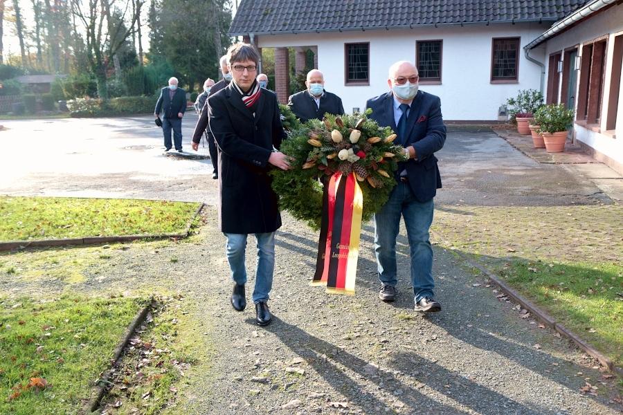 Volkstrauertag Friedhof Dahlhausen