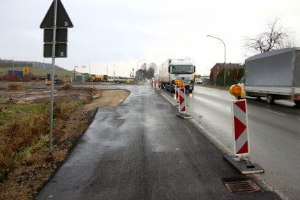 B66n Umfahrung Tunnelstraße Trompete