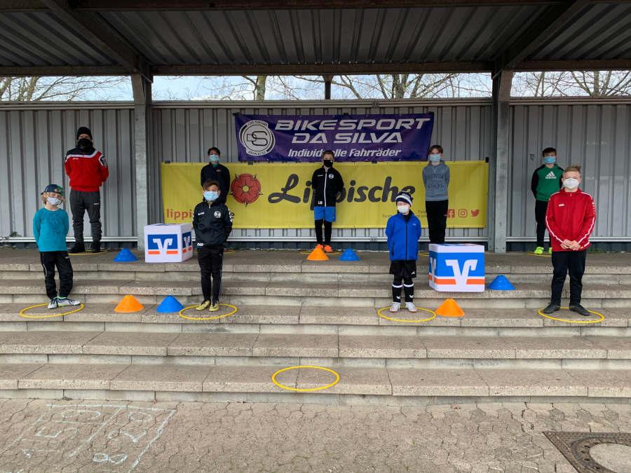 Das fünfte Fußballcamp fand bei kühlen Temperaturen in Werl-Aspe statt. Foto: Fußballcamp