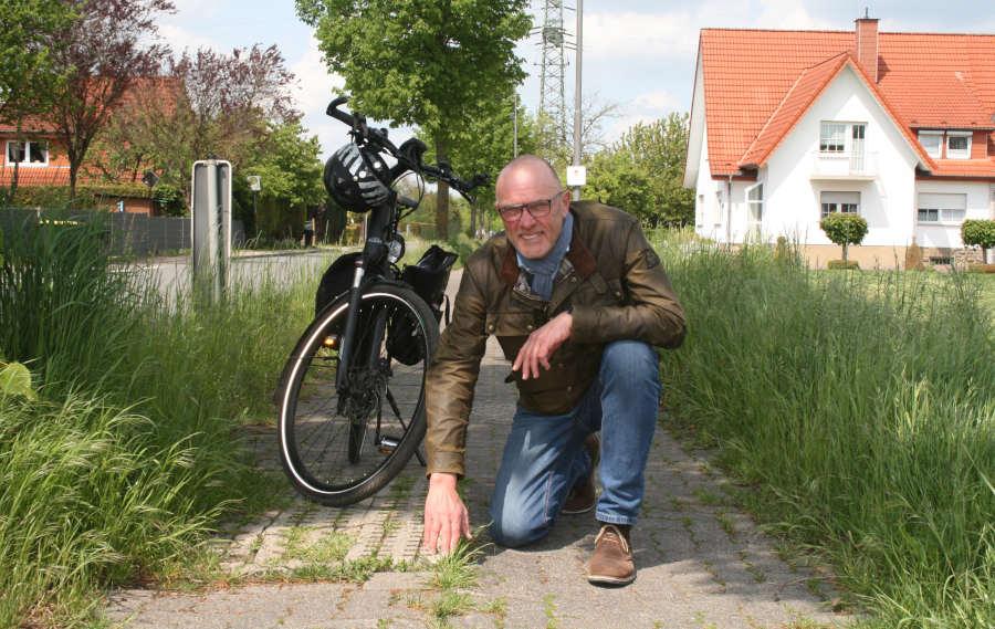 Thomas Ahle, verkehrspolitischer Sprecher der CDU im Kreistag, will den zustand der Radwege in Lippe verbessern. Foto: CDU Lippe