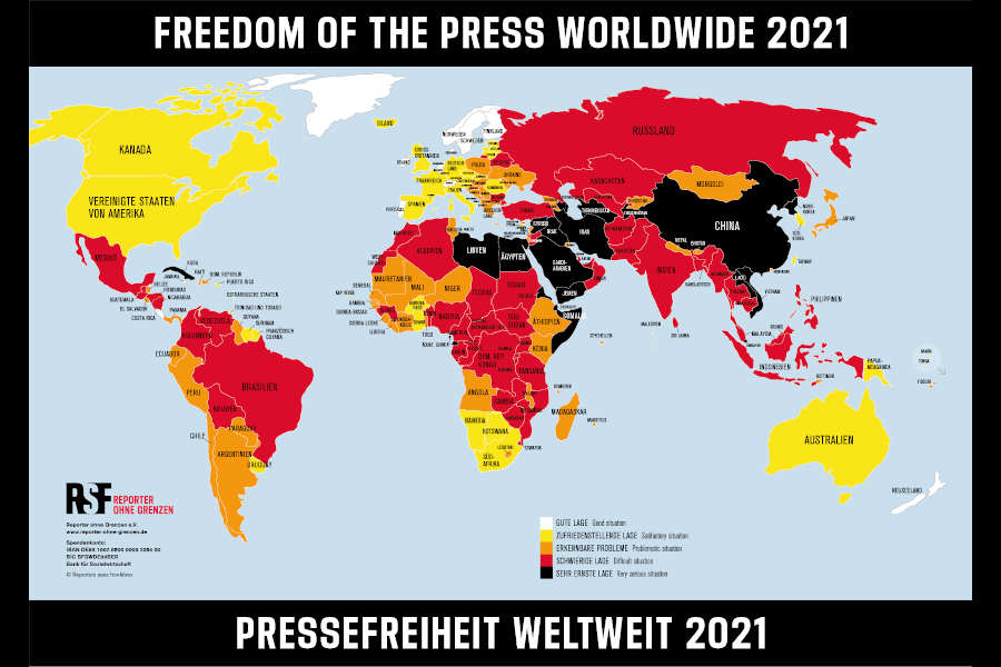 Pressefreiheit 2021