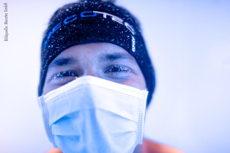 minus 85 Grad