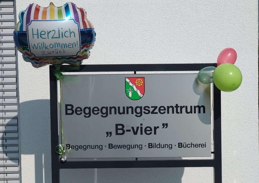 Das Begegnungszentrum B-vier hat wieder geöffnet. Foto: Gemeinde Leopoldshöhe