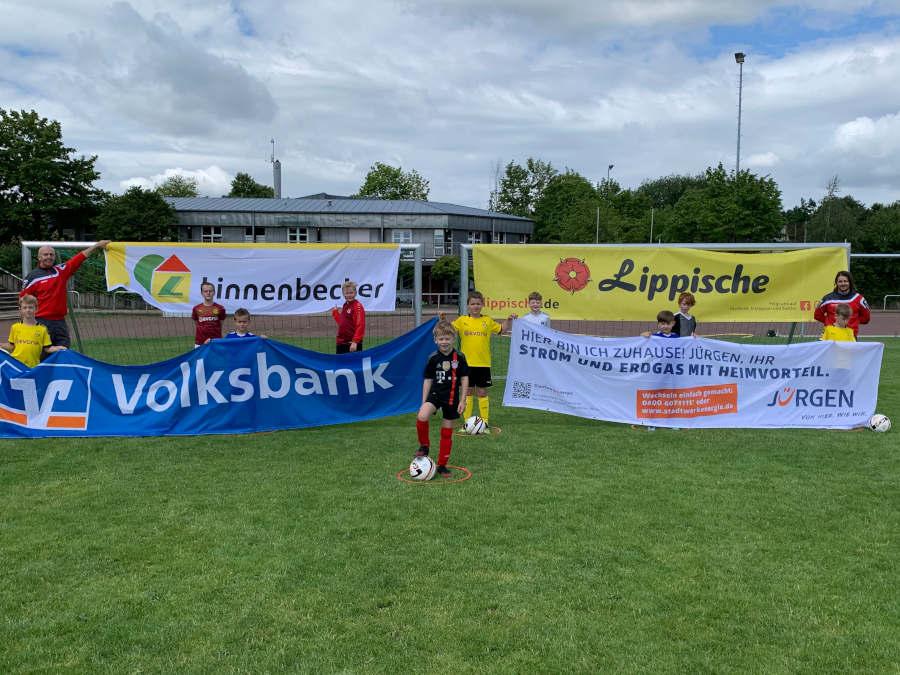CAMPfoto vom ersten Leopoldshöhe FußballCAMP 2020