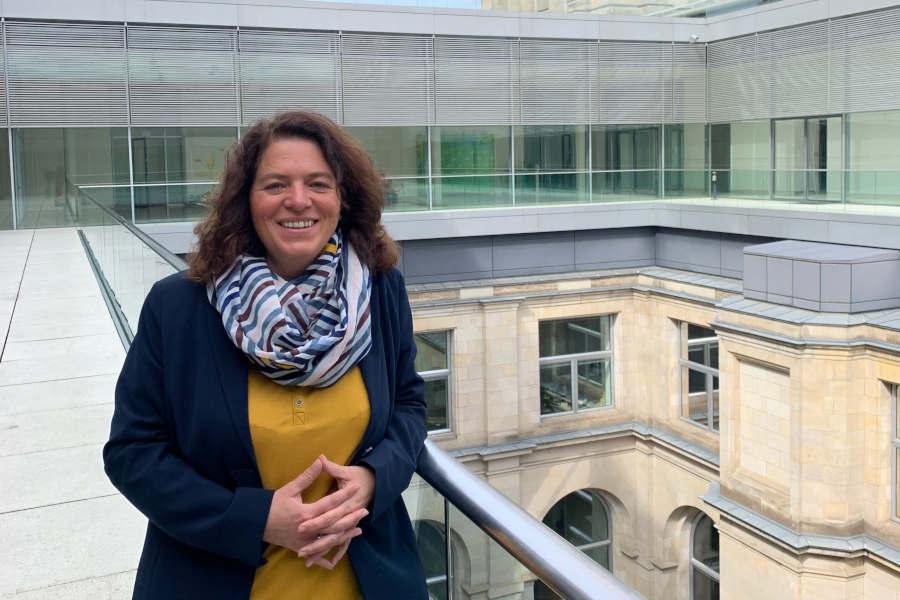 """Bundestagsabgeordnete Kerstin Vieregge: """"Der neue Digitalisierungszuschuss des Bundes ist eine gute Maßnahme für Lippe."""" Foto: Privat"""