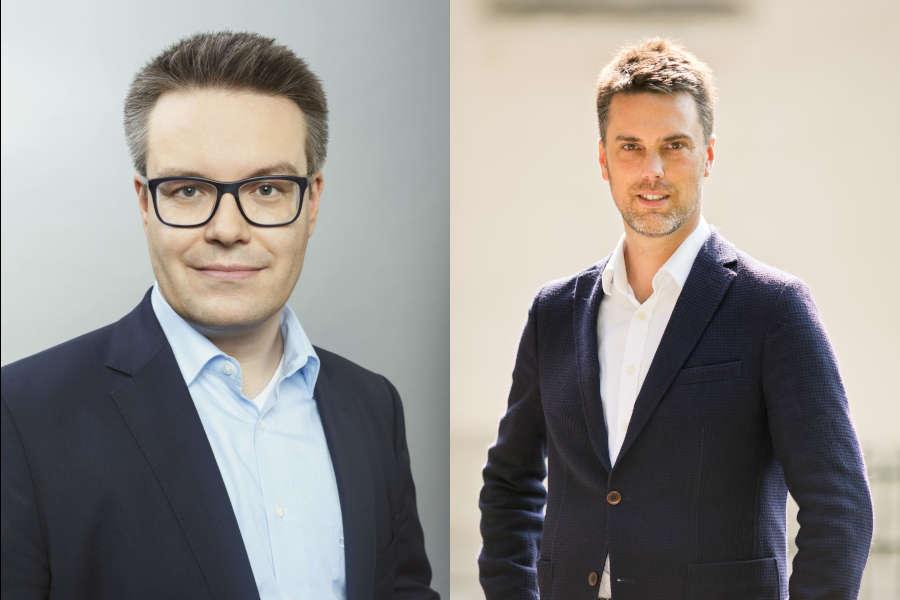 Dr.-Tobias-Lindner-und-Robin-Wegener. Fotos: Pressefoto/Lena Gehrke/ Collage: Leopoldshöher Nachrichten