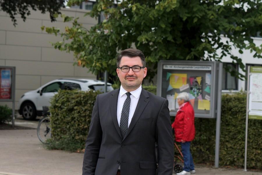 Der FDP-Bundestagsabgeordnete Christian Sauter will den Einzug ins Parlament zum zweiten Mal schaffen. Foto: Thomas Dohna