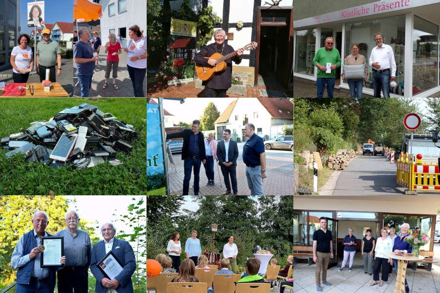 Collage Newsletter KW 36