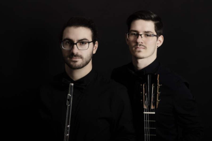Das Duo con Spirito konzertiert regelmäßig auf internationalen Festivals