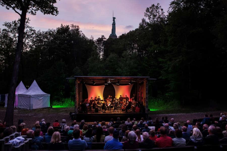 Vinorosso auf der Waldbühne. Foto: Landesverband Lippe
