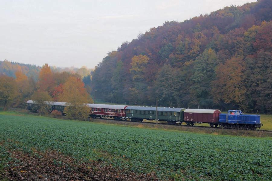 Grünkohlzeit im Heckeneilzug der Landeseisenbahn Lippe e.V. (Michael Rehfeld)